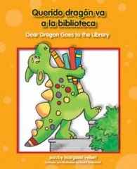 Querido dragón va a la biblioteca / Dear Dragon Goes to the Library - eBook-Library
