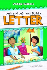 Leah and LeShawn Build a Letter - eBook-Classroom