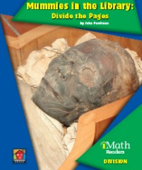 Mummies in the Library: Divide the Pages (Level B)