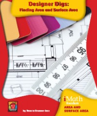 Designer Digs: Finding Area and Surface Area - eBook-Classroom
