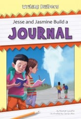Jesse and Jasmine Build a Journal - eBook-Library