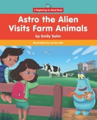 Astro the Alien Visits Farm Animals - eBook-Library