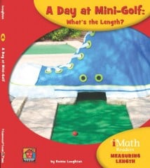 A Day at Mini-Golf: What's the Length? - Paperback