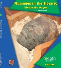 Mummies in the Library: Divide the Pages (Level B) - Paperback