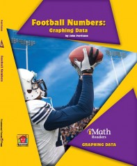 Football Numbers: Graphing Data (Level B) - Paperback