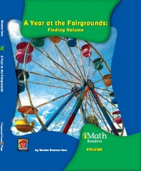 A Year at the Fairgrounds: Finding Volume (Level C) - Paperback