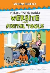 Will and Wendy Build a Website with Digital Tools - Paperback