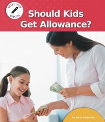 Should Kids Get Allowance? - Paperback