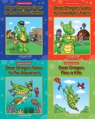 A Complete Set: Dear Dragon Going Places (4 books)