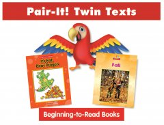 Fall Pair-It! Twin Text Take Home Pack (2 Book Set) - Paperback
