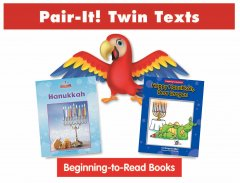 Hanukkah Pair-It! Twin Text Take Home Pack (2 Book Set) - Paperback