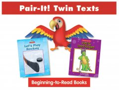 Hockey Pair-It! Twin Text Take Home Pack (2 Book Set) - Paperback