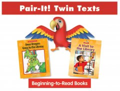 Library Pair-It! Twin Text Take Home Pack (2 Book Set) - Paperback