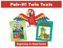 Market Pair-It! Twin Text Take Home Pack (2 Book Set) - Paperback