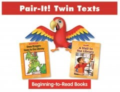 Community Places Pair-It! Twin Text Set 1 (8 books) - Paperback