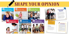 A Complete Set: Shape Your Opinion (6 books)