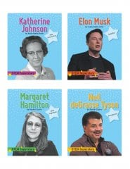 STEM Superstars - Set 2 (4 books) - Paperback