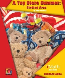 A Toy Store Summer: Finding Area - eBook-Classroom