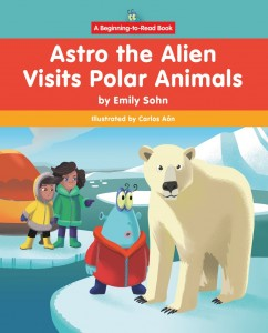 Astro the Alien Visits Polar Animals - eBook-Library