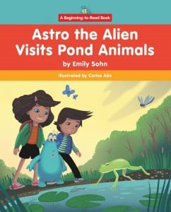 Astro the Alien Visits Pond Animals - Paperback