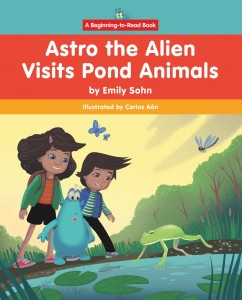 Astro the Alien Visits Pond Animals - eBook-Library