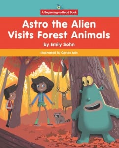 Astro the Alien Visits Forest Animals - eBook-Classroom