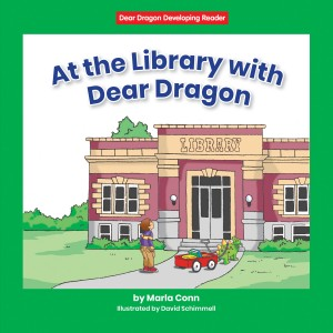 At the Library with Dear Dragon - Paperback