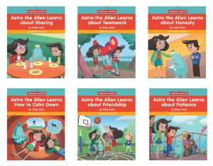 Astro the Alien Learns about Emotions (6 books)