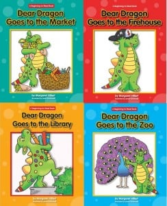 A Complete Set: Dear Dragon Community Places (4 books)