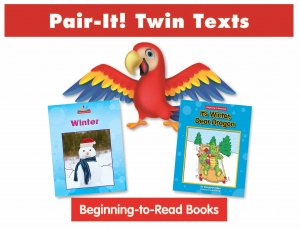 Winter Pair-It! Twin Text Take Home Pack (2 Book Set) - Paperback