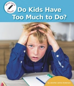 Do Kids Have Too Much to Do? - eBook-Library