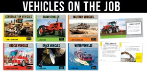 A Complete Set: Vehicles on the Job (6 books)